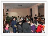 Эвакуация из учебного корпуса КМКИС