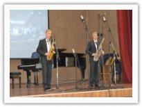 Дуэт саксофонистов Влад и Никита Соколовы