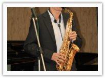 Никита Соколов - соло на саксофоне