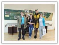 Студенты дирижерско-хорового отделения в Доме-музее Г.В. Свиридова